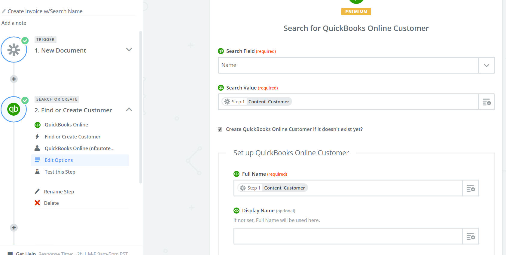 zapier.Quickbooks.FindCustomer.EditOptions.jpg